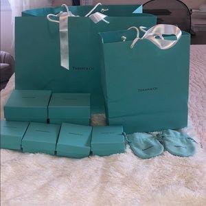 Tiffany and Co. Bag and Box Set